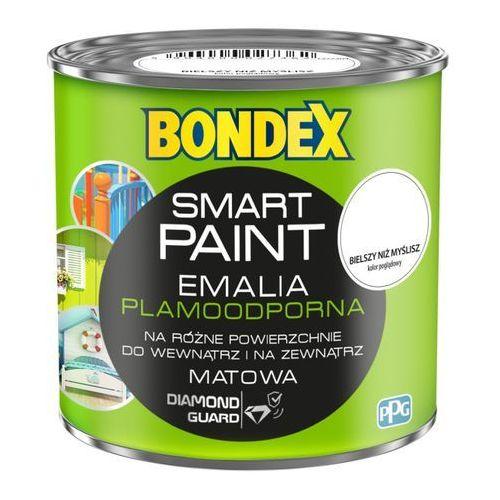 Emalia akrylowa Bondex Smart Paint bielszy niż myślisz 0 2 l, kolor biały