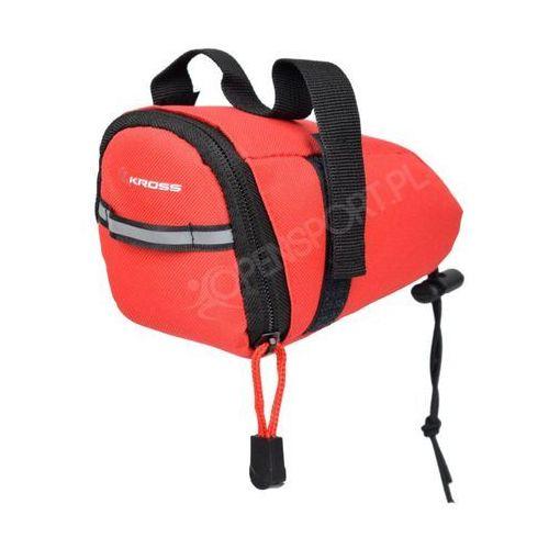 Kross Rowerowa podsiodłowa torebka saddle bag 100 czerwona