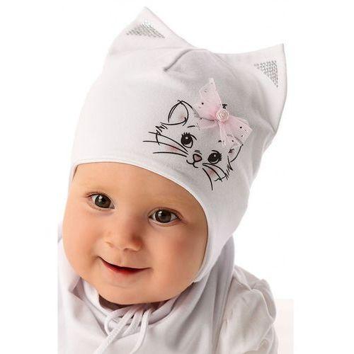 Marika Czapka niemowlęca wiązana 5x34ao