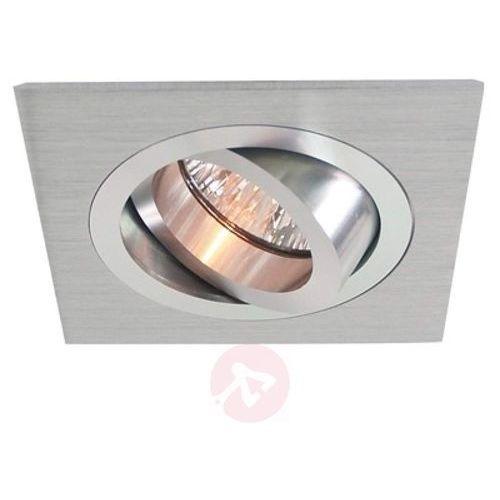 Deko-light Wychylny pierścień wpuszczany z aluminium