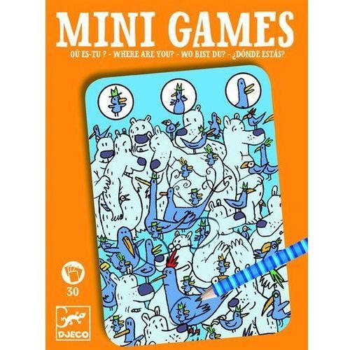 Djeco Gra mini - gdzie jest piou piou, kategoria: gry dla dzieci