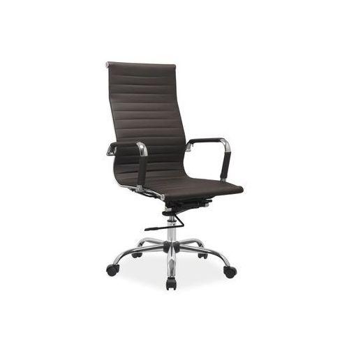 Fotel obrotowy, krzesło biurowe Q-040 brown, Q-040 BR