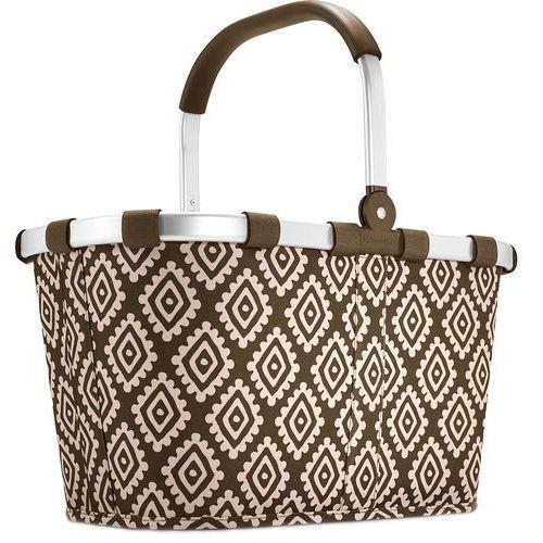 Niezwykły koszyk na zakupy Reisenthel Carrybag Diamonds Mocha (RBK6039)
