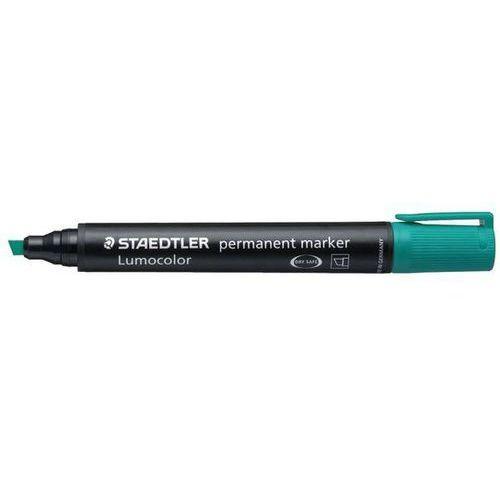 Staedtler marker permanentny lumocolor 350 2-5 mm, ścięty, zielony