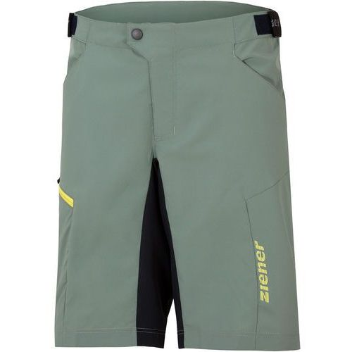 Ziener cang x-function spodnie rowerowe mężczyźni zielony 48 2018 spodenki rowerowe (4059749135296)