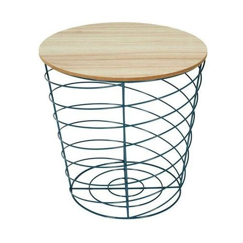 Intesi vortex niebieski kosz/stolik
