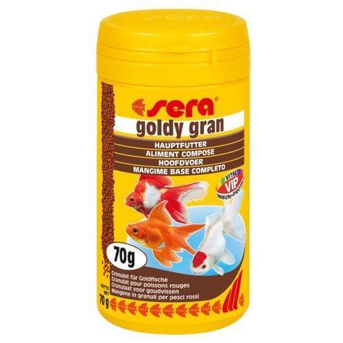 Sera goldy gran - pokarm dla złotych rybek granulowany