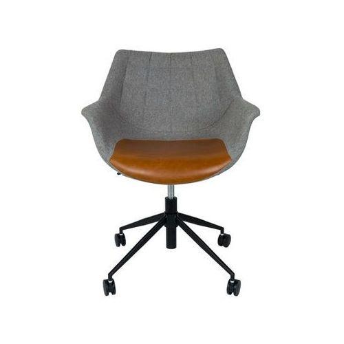 Zuiver:: Krzesło Doulton Vintage brązowe