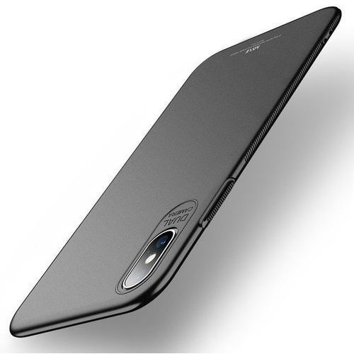 Etui MSVII Slim Case do iPhone XS Max 6.5 Czarne Matowe (6923878272468)