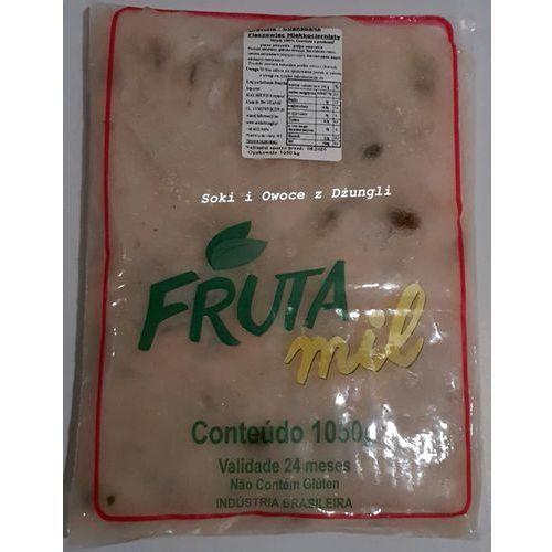 Owoc graviola, guanabana, flaszowiec z pestkami marki Frutamil comércio de frutas e sucos ltda