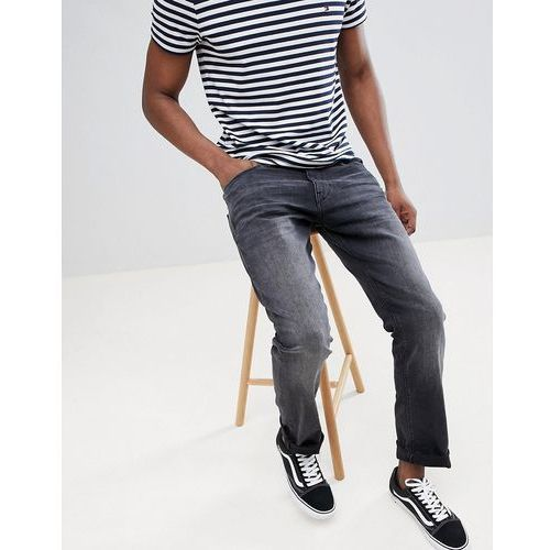 Esprit Straight Fit Jeans Washed Black In Organic Cotton - Black, bawełna