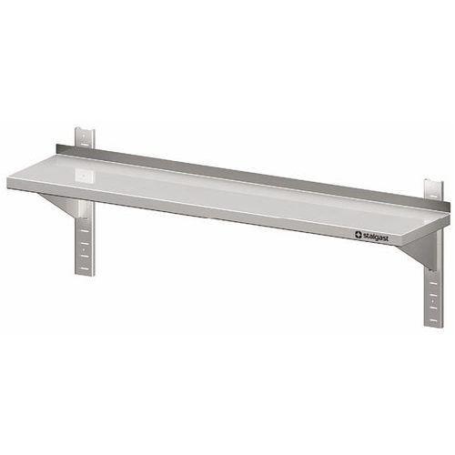 Półka wisząca przestawna pojedyncza 700x300x400 mm | STALGAST, 981753070