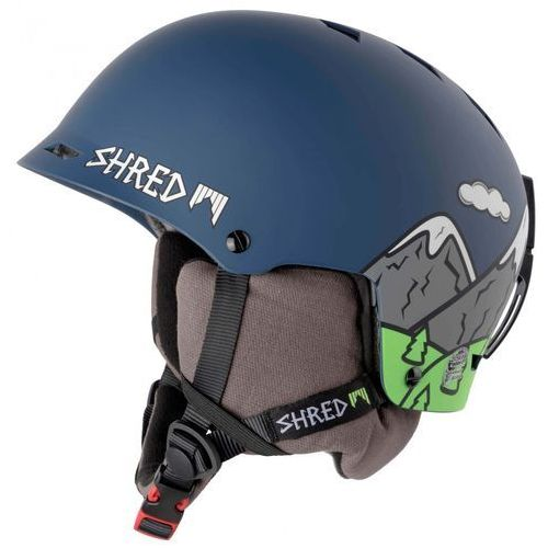 SHRED HALF BRAIN D-LUX NEEDMORESNOW - kask snowboard rolki rower R. XS/M 52-56 CM