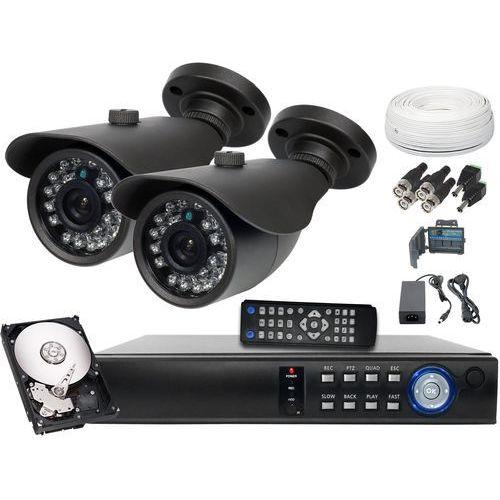 Zestaw do monitoringu 2x Kamera 1.3 z IR do 20m Dysk 500GB, kup u jednego z partnerów