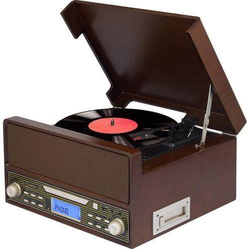 Renkforce Gramofon  rt-1923 drewno (4016139099514)