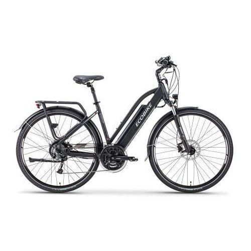 Rower elektryczny s-cross l czarny marki Ecobike