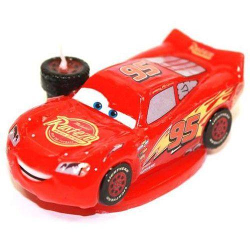 """Świeczka na tort """"Zygzak McQueen - Cars 3D"""", DEKORA, 8,5 cm"""