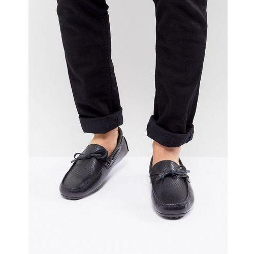 Kg by kurt geiger driving shoes in black leather - black, Kg kurt geiger
