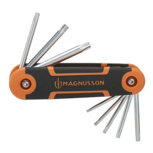 Klucze torx składane 8 szt. marki Magnusson