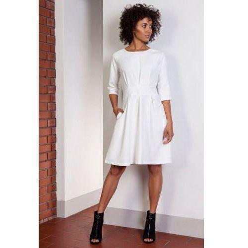 Sukienka model suk122 ecru, Lanti