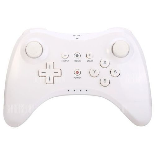 Gearbest Wireless bluetooth game controller with u pro style for nintendo wii u