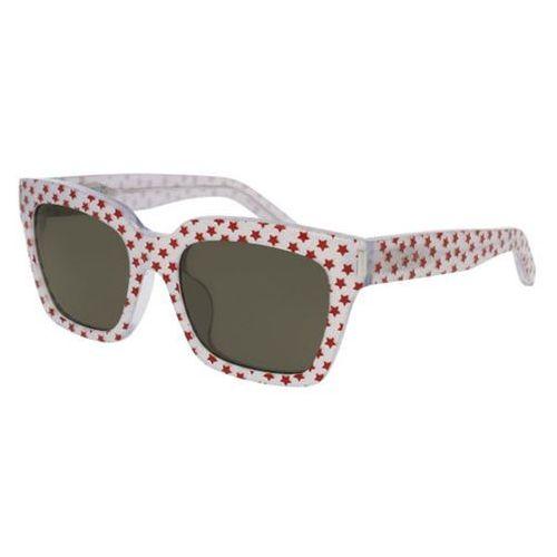 Okulary słoneczne bold 1/f asian fit 012 marki Saint laurent
