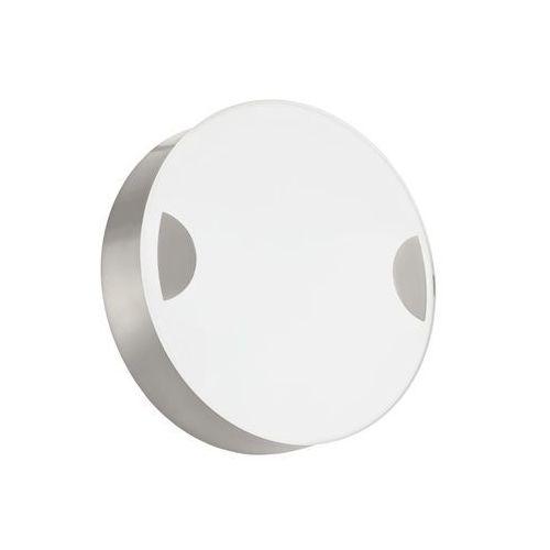 Eglo Kinkiet cupella 95965 lampa ścienna sufitowa 1x11w led biały nikiel mat (9002759959654)