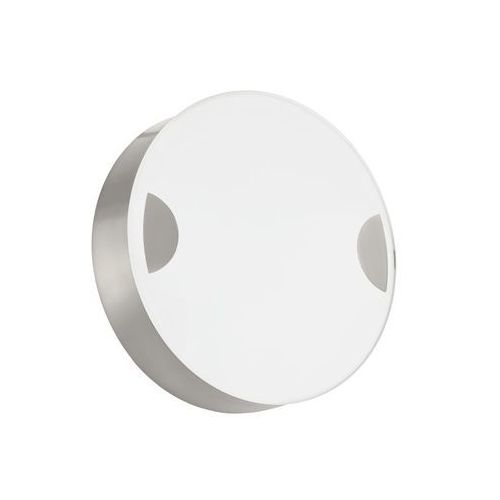 Kinkiet cupella 95965 lampa ścienna sufitowa 1x11w led biały nikiel mat marki Eglo
