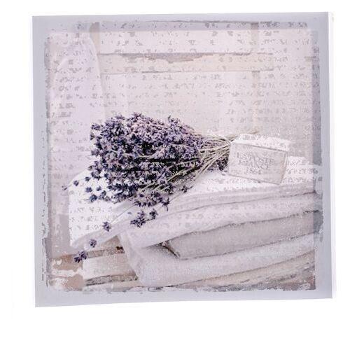 Obraz na płótnie Lavender blanket, 28 x 28 cm (8595183280605)