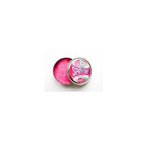 Sprytna plastelina sprytny kucyk różowy brokat