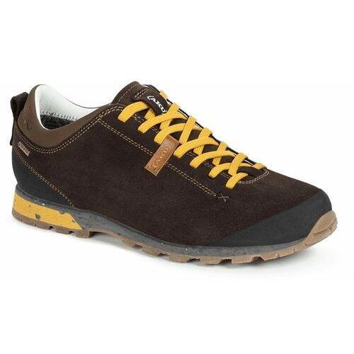 męskie obuwie turystyczne bellamont iii suede gtx 5043305 9,5 brązowe marki Aku