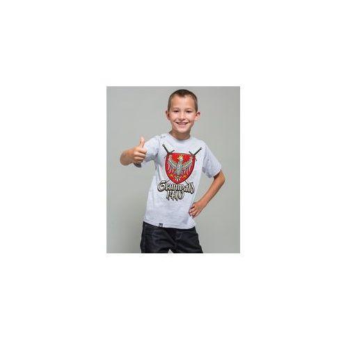 Koszulka dziecięca surge grunwald jasny melanż (k.sur.1358) marki Surge polonia