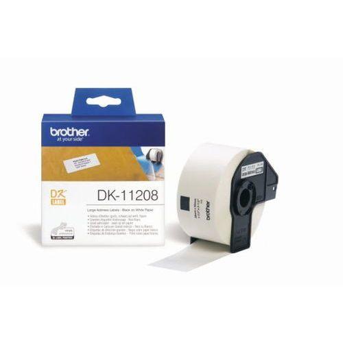 etykiety do drukarek adresowe 38mm x 90mm (400szt.) marki Brother