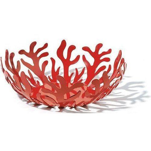 mediterraneo miska na owoce ze stali i żywicy epoksydowej czerwona mała (esi01/21 r) darmowy odbiór w 20 miastach! marki Alessi