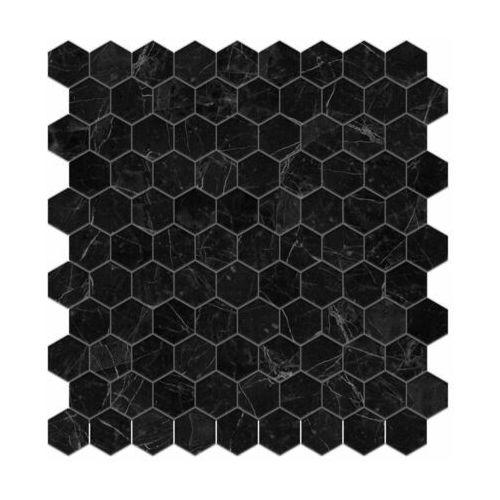 Vidrepur Mozaika supreme marquina hex 31.7 x 30.7