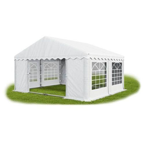Namiot 4x4x2, wzmocniony pawilon ogrodowy, summer plus/ 16m2 - 4m x 4m x 2m marki Das company
