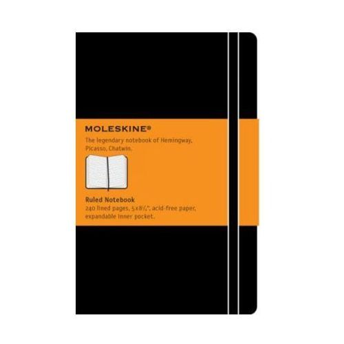 Large Ruled Notebook Moleskine - MOLESKINE