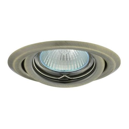 Kanlux Argus ct-2115-br/m mosiądz antyczny - oczko halogenowe 50w (5905339003300)