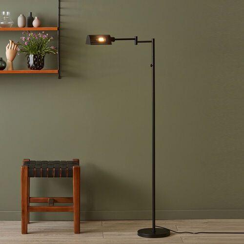yale 107822 lampa podłogowa 1x12w e14 czarny marki Markslojd