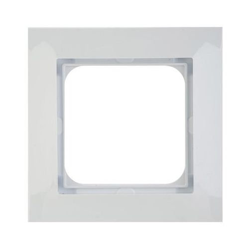 Ospel Impresja Ramka pojedyńcza biały R-1Y/00, kolor biały