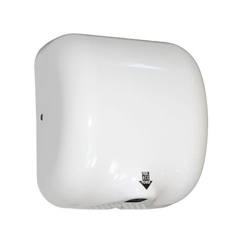 Suszarka do rąk TURBO JET - obudowa metalowa, kolor biały, EIB102