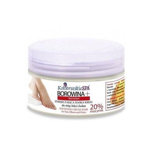 Kołobrzeskie Spa Borowina + Zmiękczająca maska - krem do stóp, łokci i kolan z bursztynem Borowina + Zmiękczająca maska - krem do stóp, łokci i kolan z bursztynem (5902596184339)