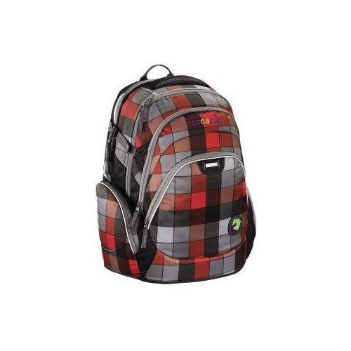 Coocazoo , plecak dwukomorowy, jobjobber, red district (4047443236838)