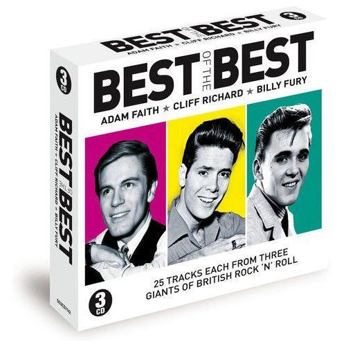 Adam faith, cliff richard, billy fury Best of the best, kategoria: pozostała muzyka