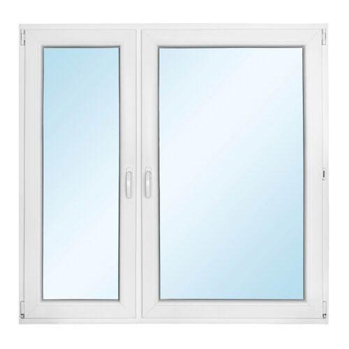 Okno PCV rozwierno-uchylne + rozwierne z mikrowentylacją 1465 x 1435 mm lewe, O73 1065X1035