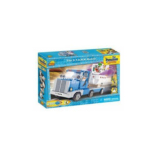 Klocki Cobi Pingwiny Ciężarówka S.T.A.N.K. 280 elementów
