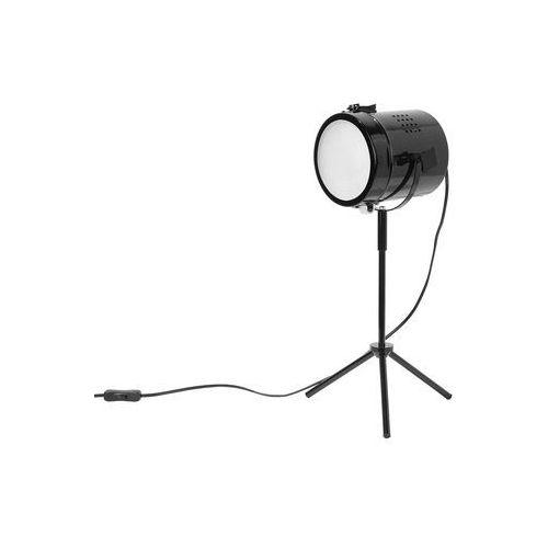 Lampa stołowa 52 cm czarna henares marki Beliani