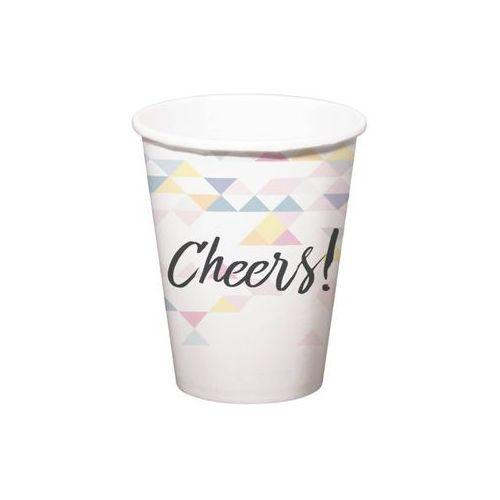Folat Kubeczki urodzinowe opalizujące cheers! - 250 ml - 6 szt.