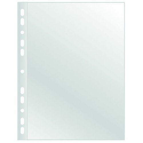 Koszulki na dokumenty Q-CONNECT, PP, A4, krystal, 120mikr., 100szt., w pudełku