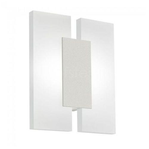 Kinkiet Eglo Metrass 2 96043 lampa ścienna 2x4,5W LED nikiel mat